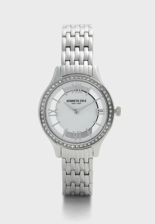 KC51013004 Steel Strap Analog Watch