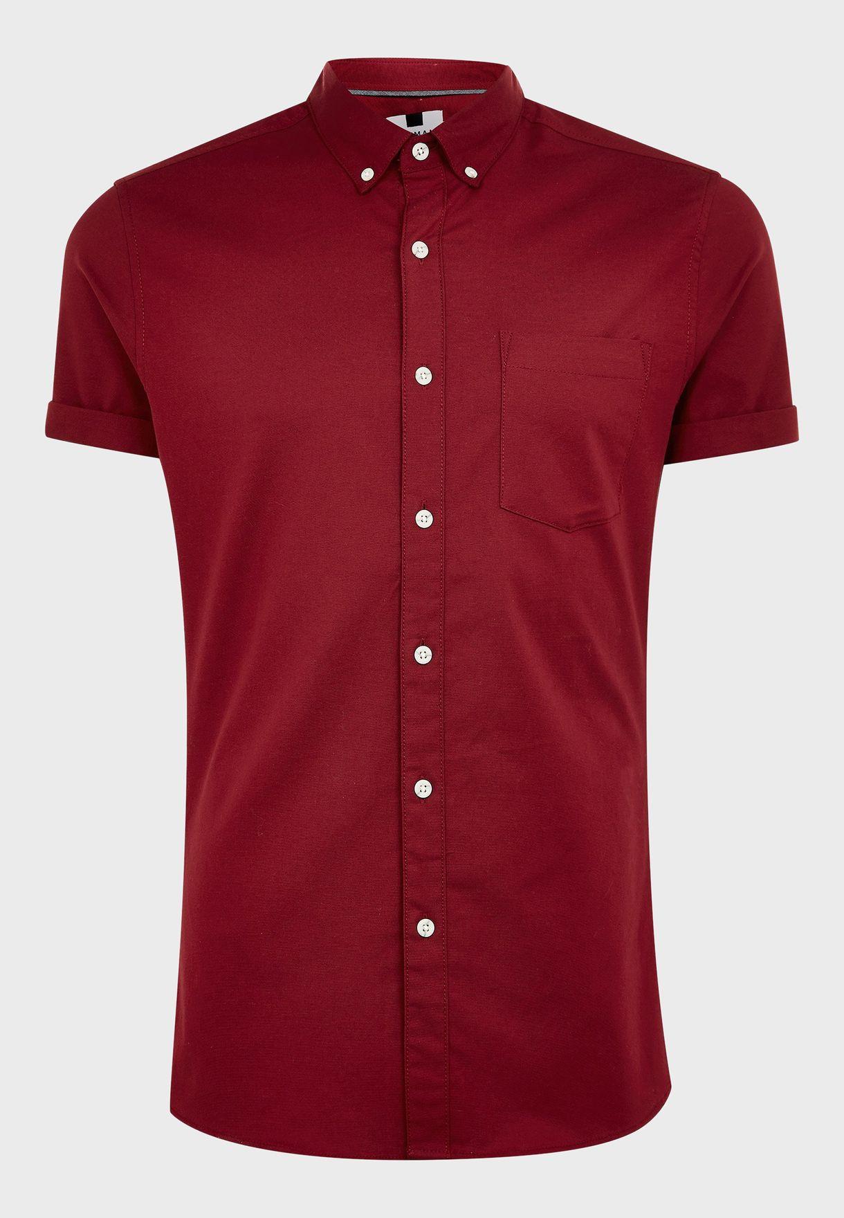 Oxford Skinny Fit Shirt