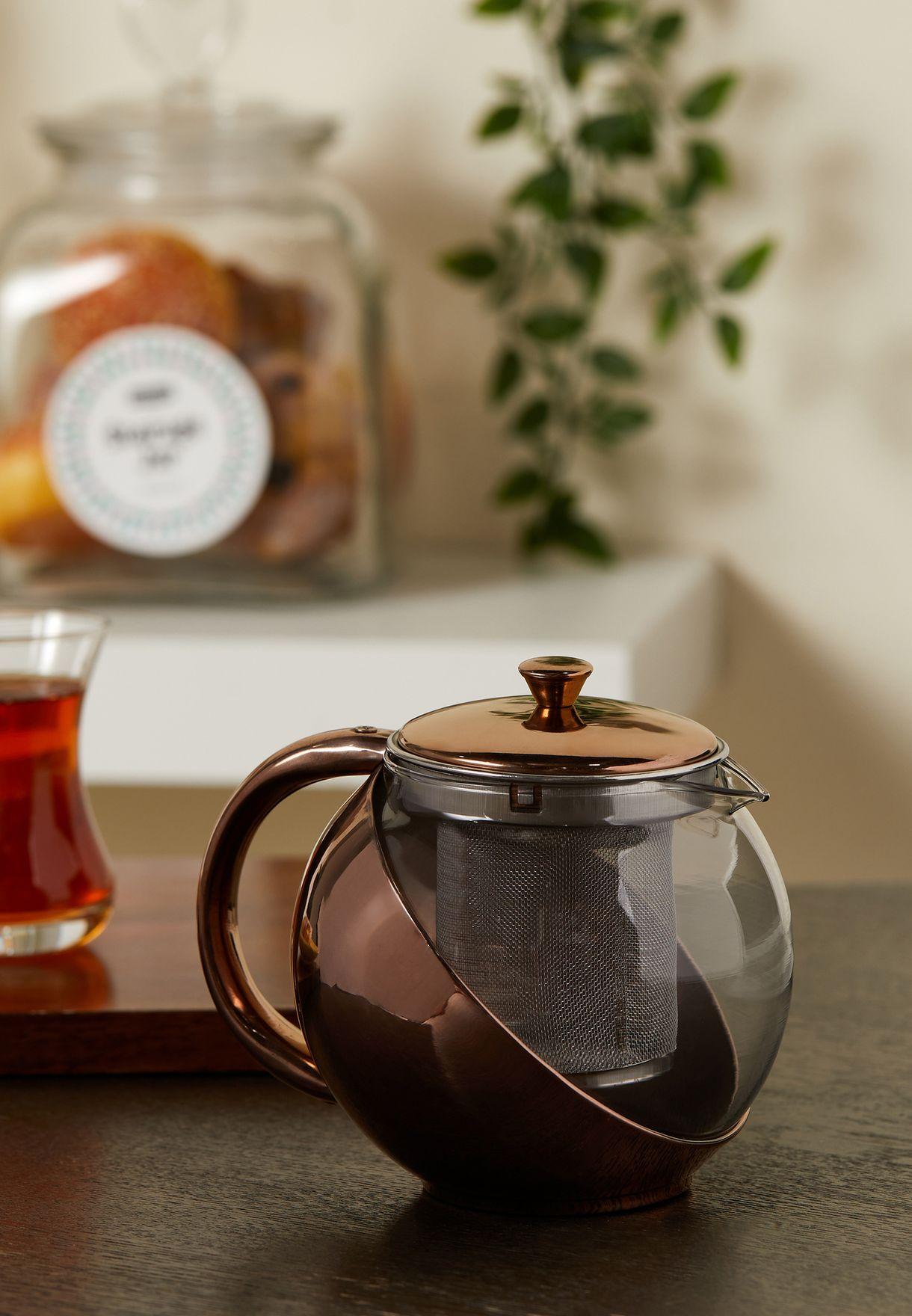 Copper Finish Teapot
