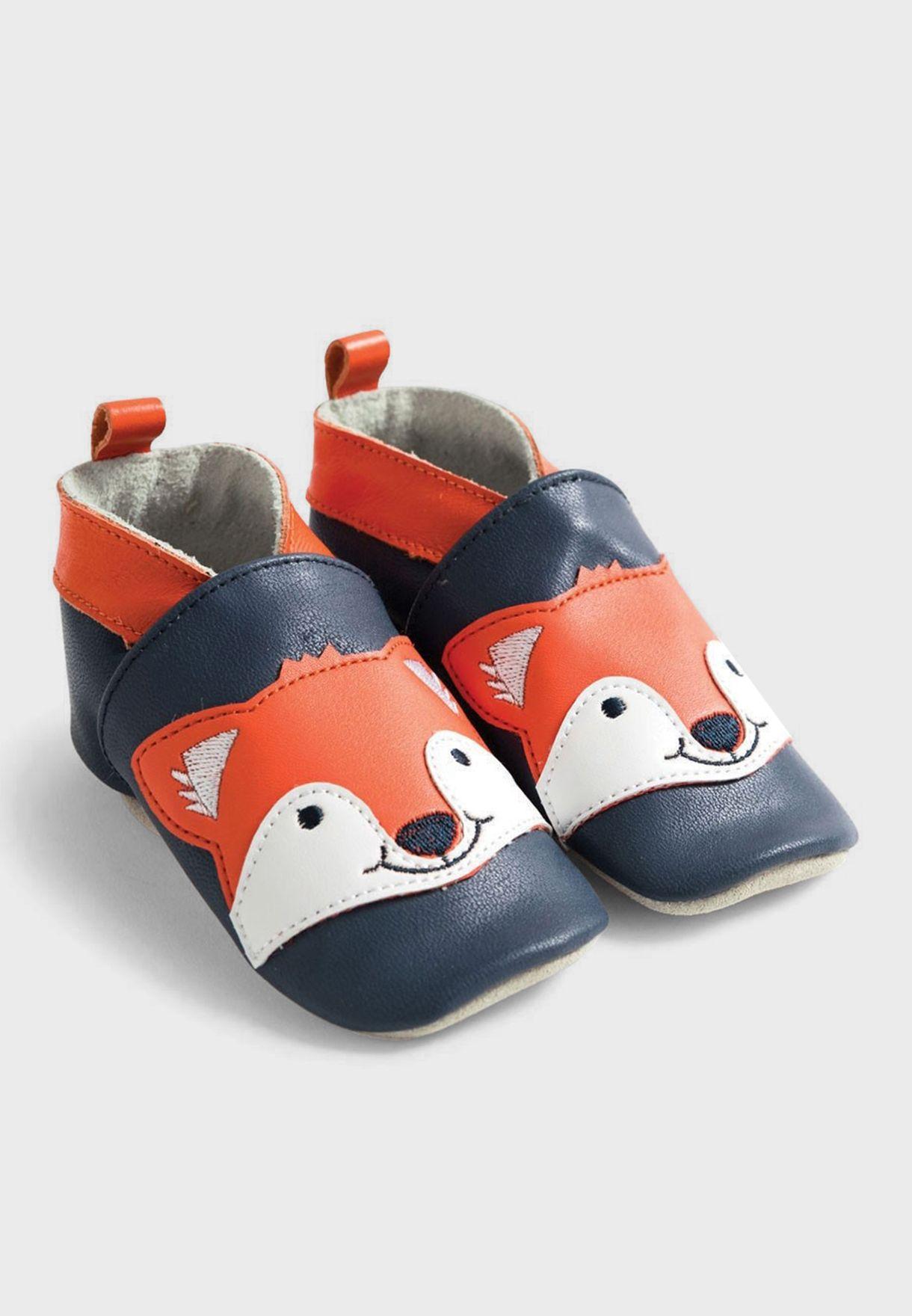 Infant Fox Booties