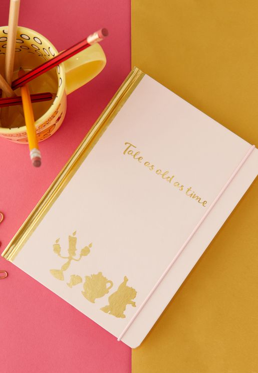 A5 Disney Beauty And The Beast Notebook