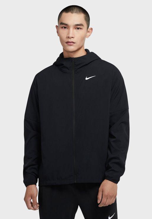 Run Stripe Woven Track Jacket
