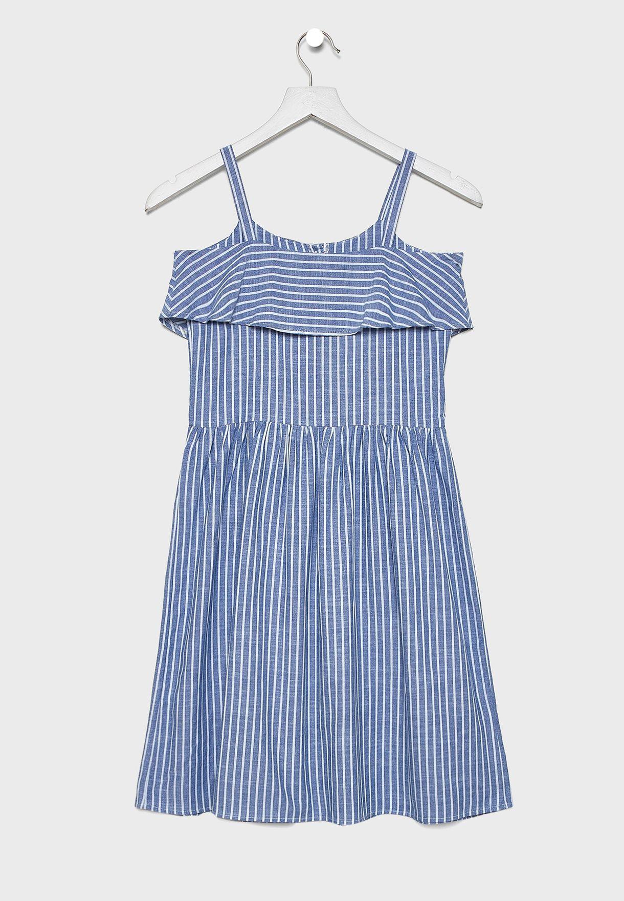 Kids Printed Cami Dress