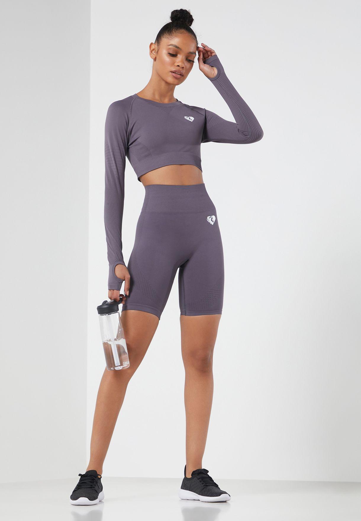 Power Seamless Cycling Shorts