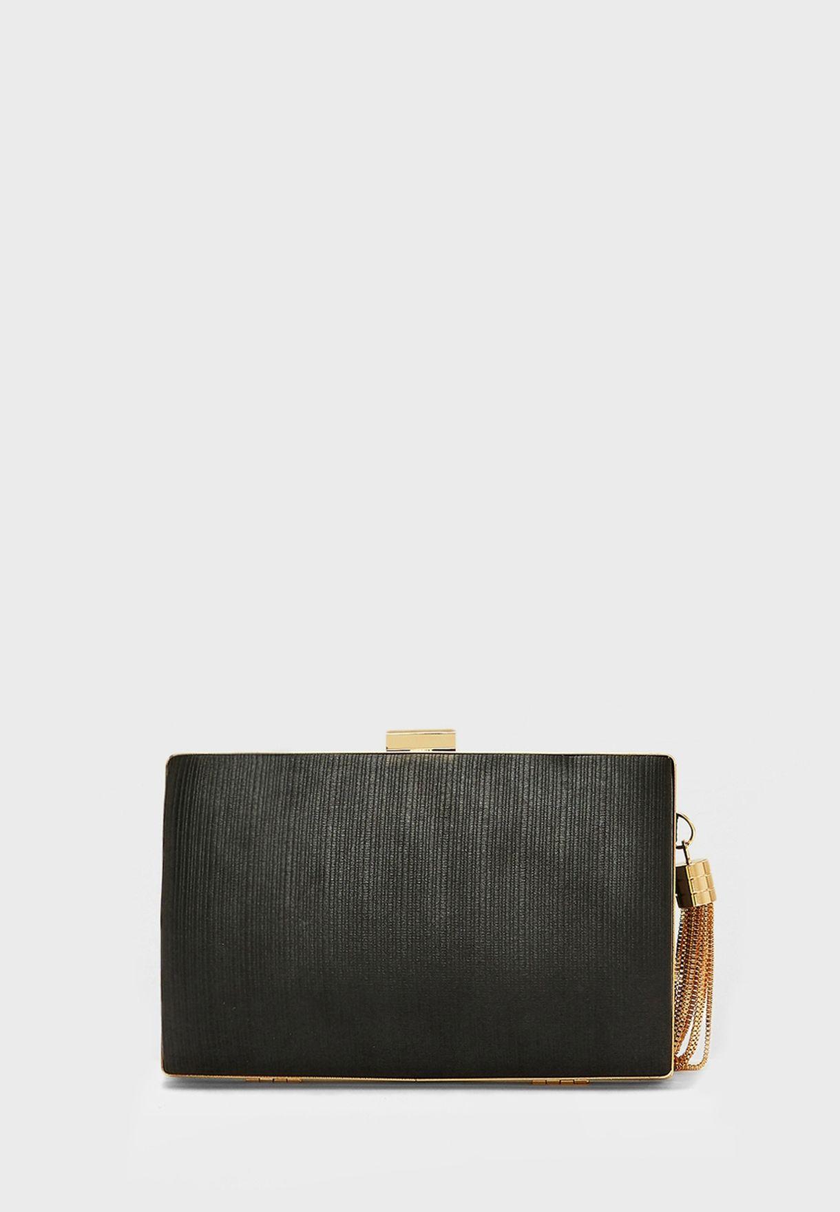 Criss Cross Clutch Bag