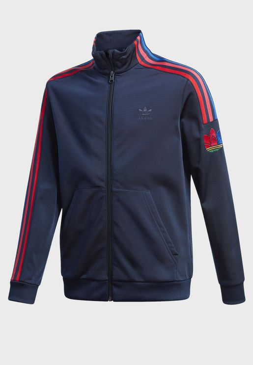 Youth adicolor 3D Track Jacket