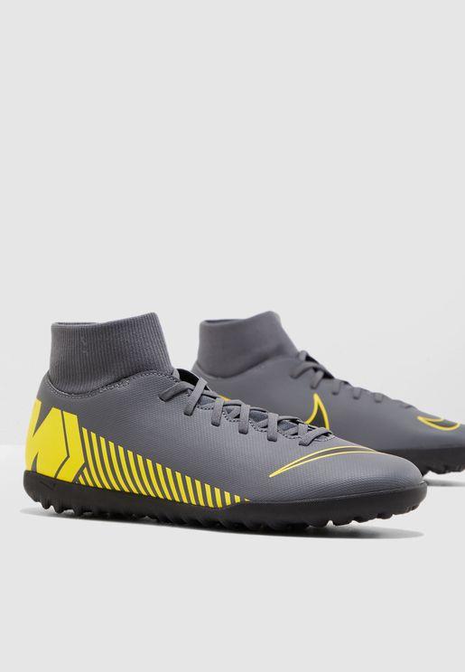 حذاء ميركوريال سوبر فلاي كلوب 6 للارض العشبية