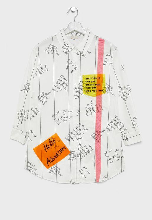 Teen Slogan Shirt