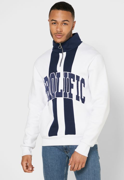 Prolific Half Zip Sweatshirt