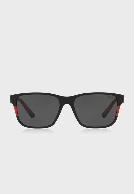 0PH4137 Wayfarer Sunglasses