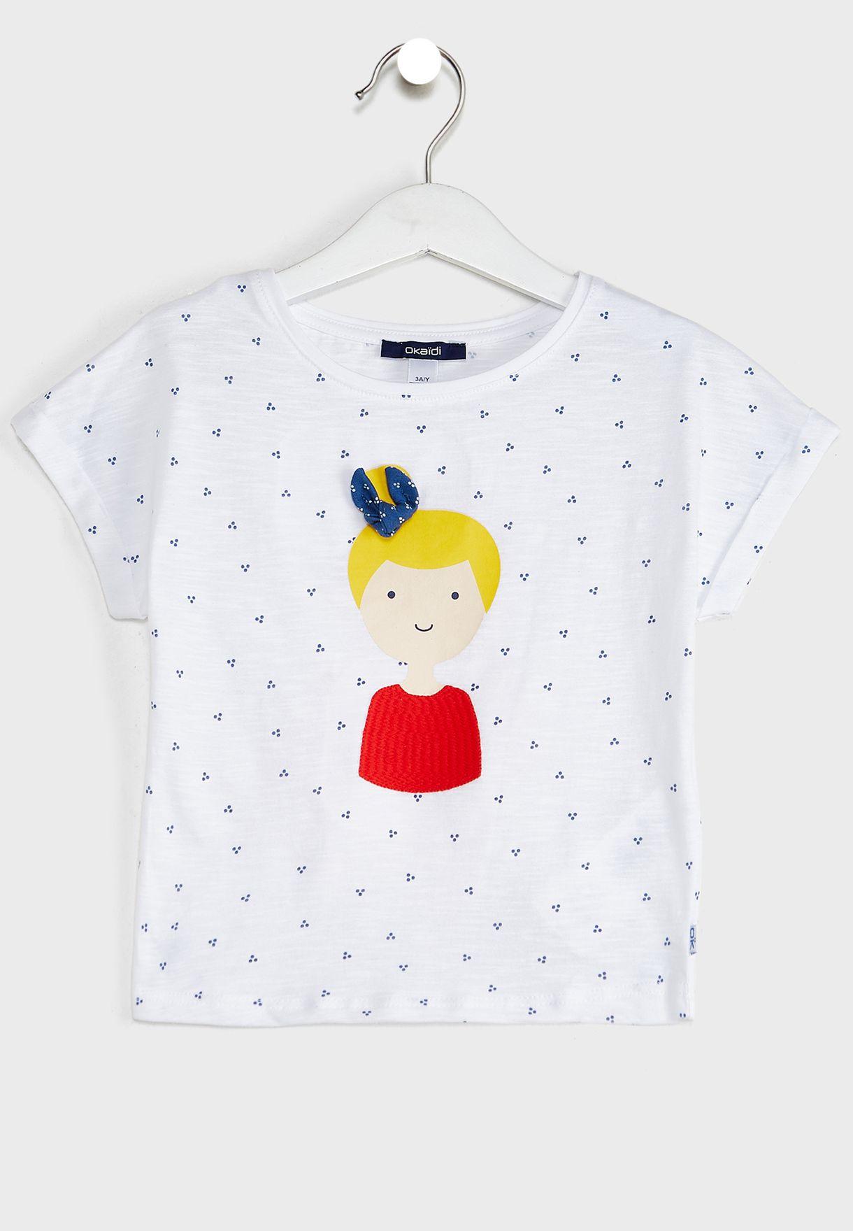 Kids Girl Print T-Shirt