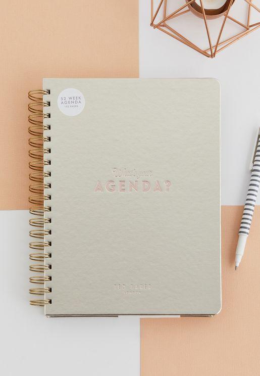 دفتر ملاحظات وتقويم