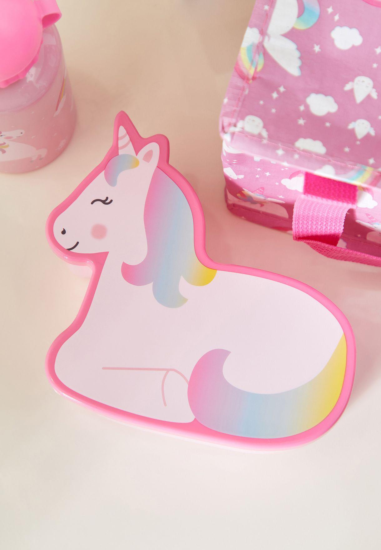 Rainbow Unicorn Back To School Bundle Set