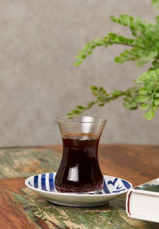 Ghida Blue Istikanah Tea Cup
