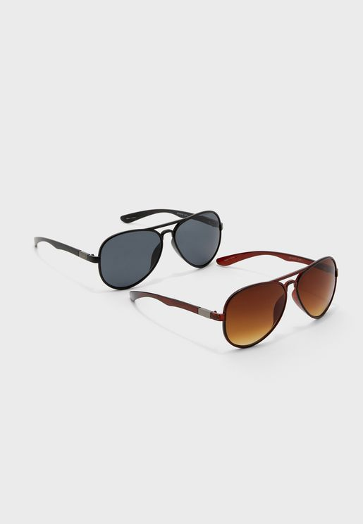 Aviatas 2 Pack Sunglasses