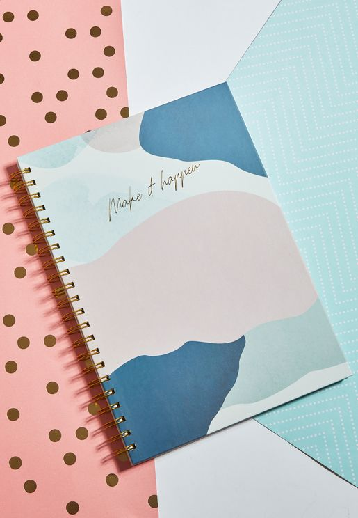 A4 Make It Happen Notebook