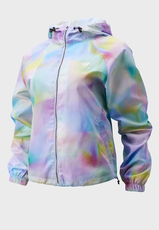 Essential Y2K AOP Jacket
