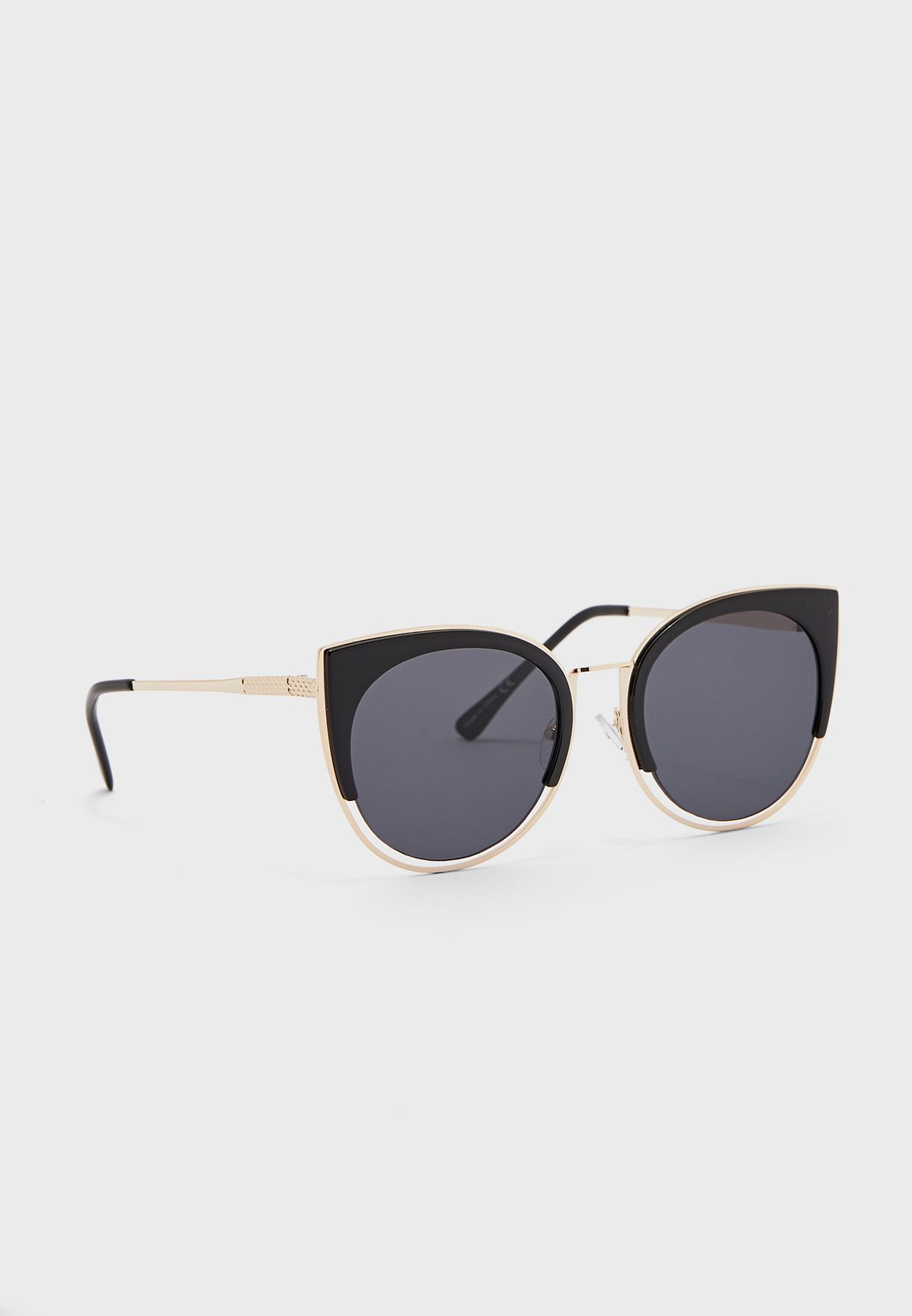 Arell Round Cateye Sunglasses