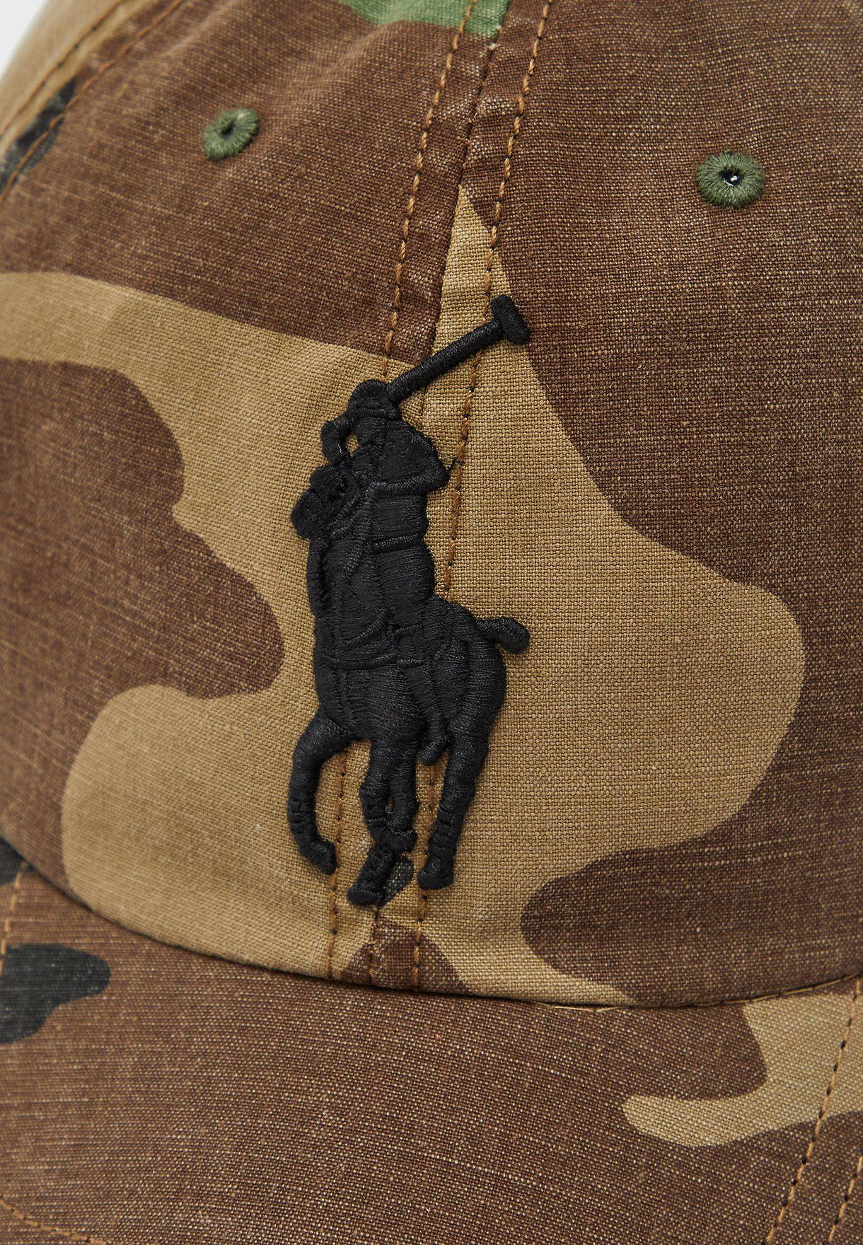 Camo Logo Cap