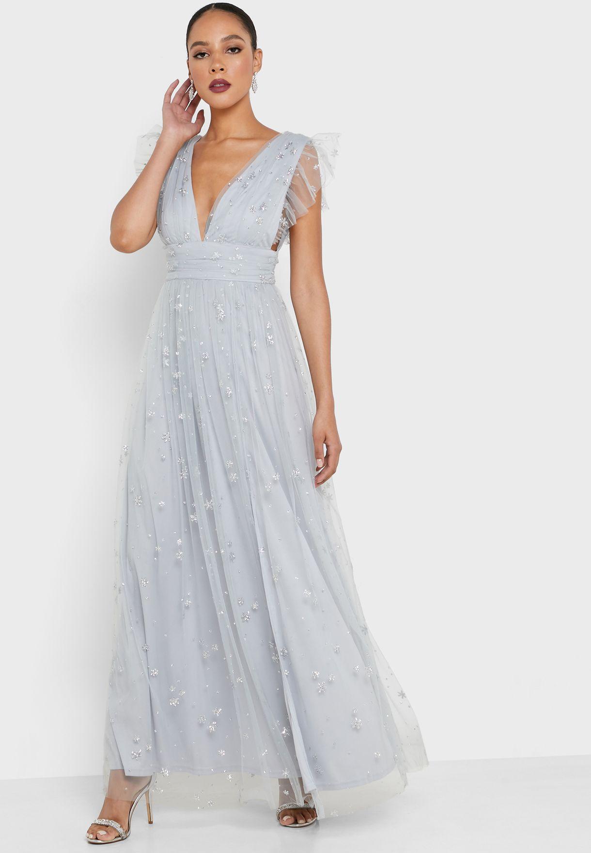 فستان شبك