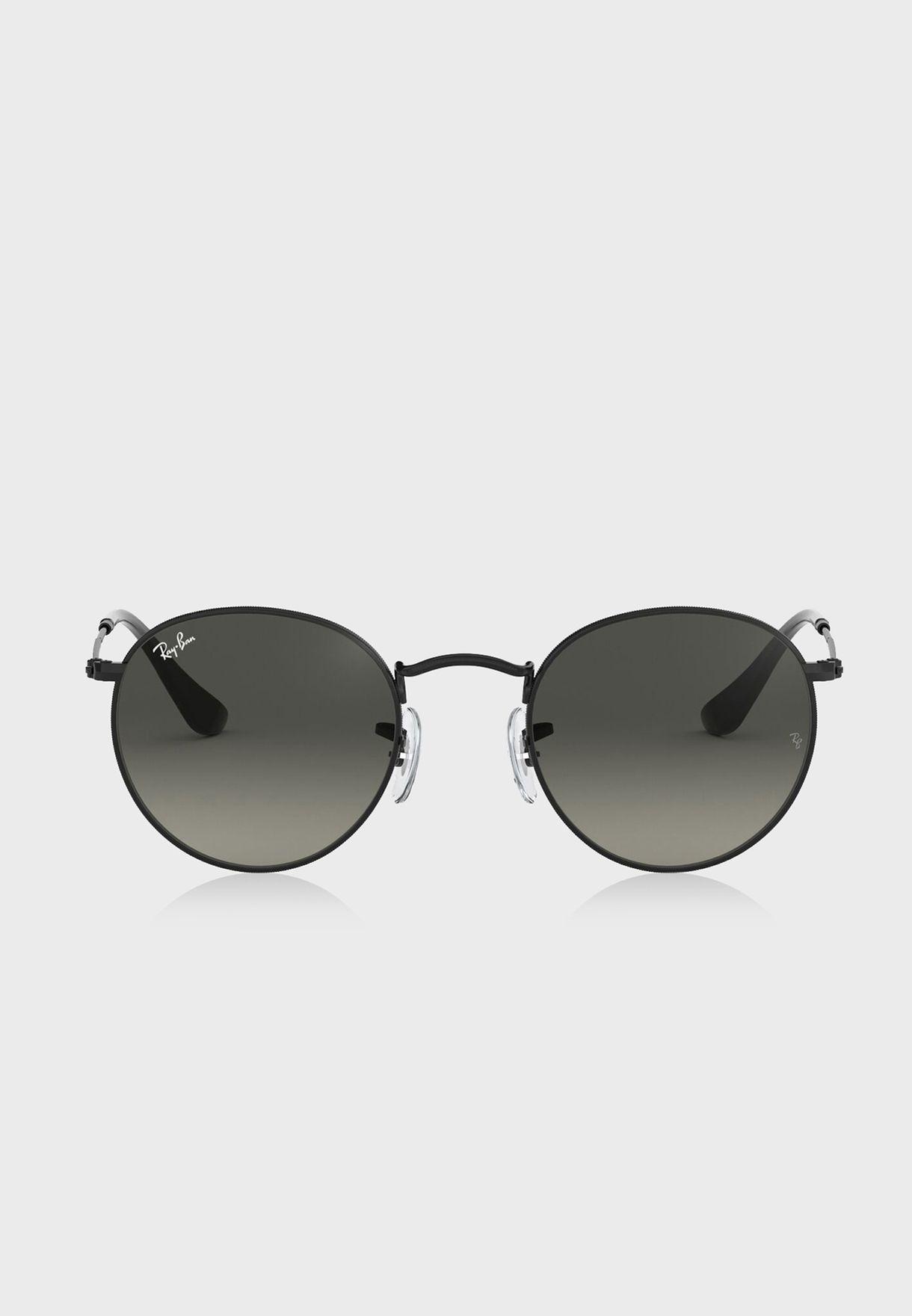 0RB3447N Round Sunglasses