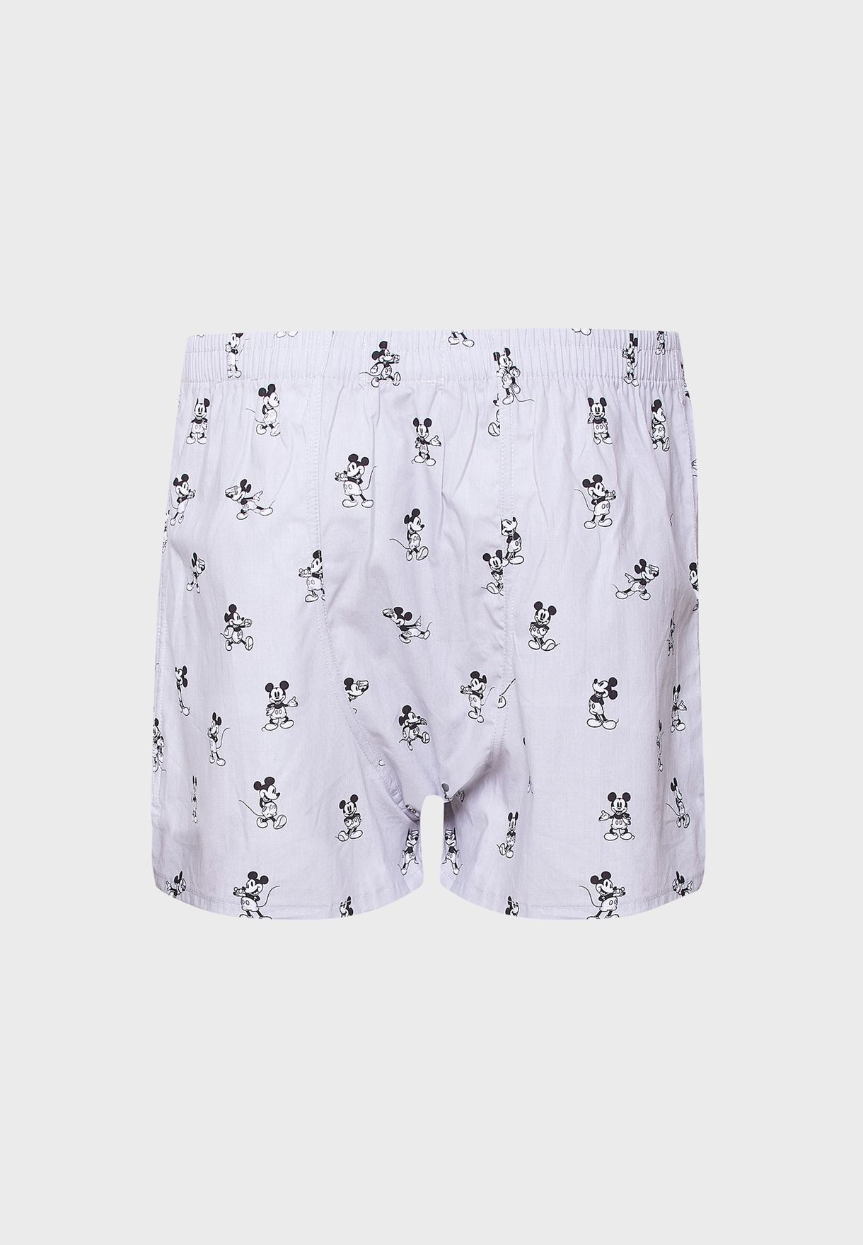 Mickey Mouse Print Boxers