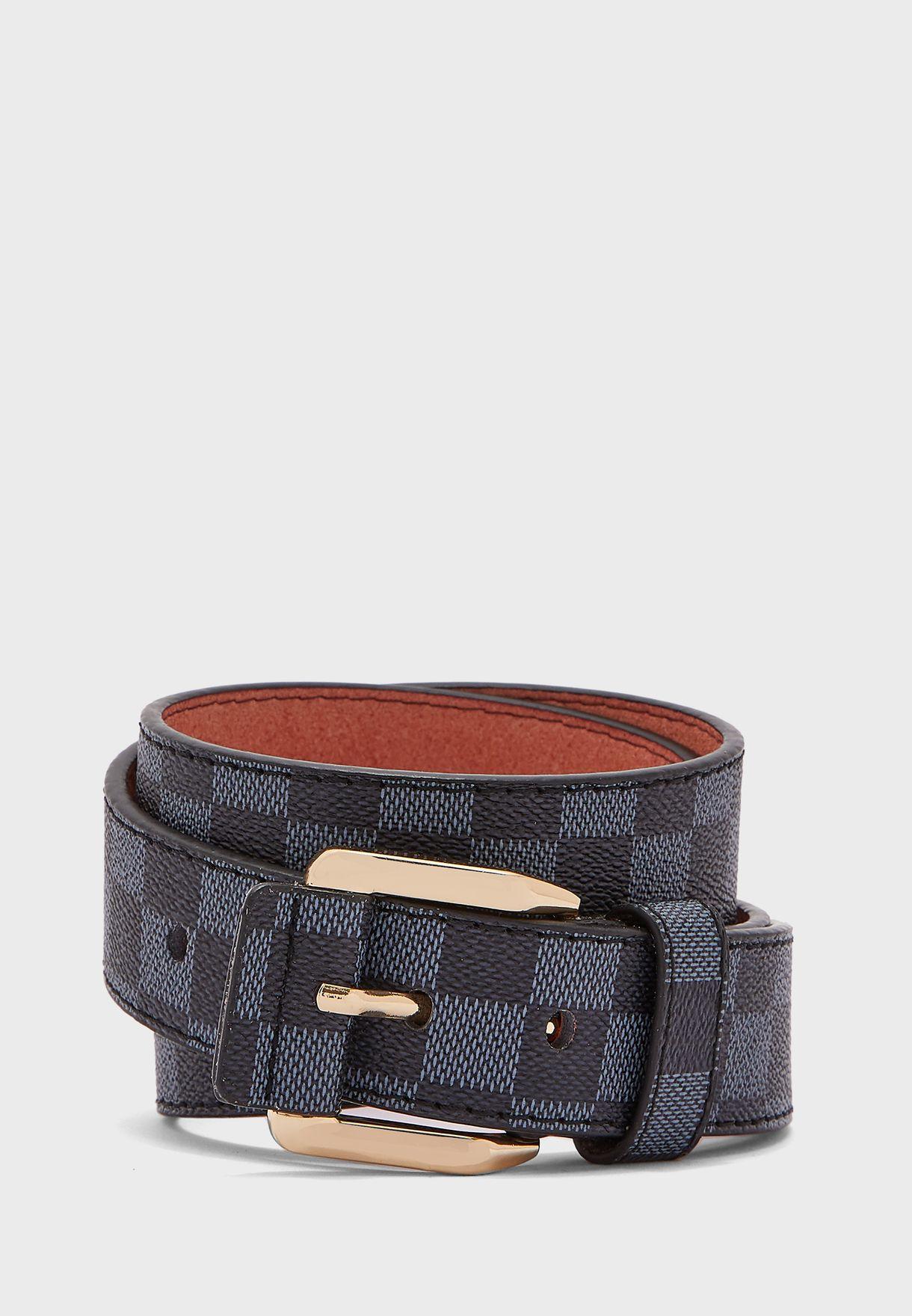 حزام خصر مربعات