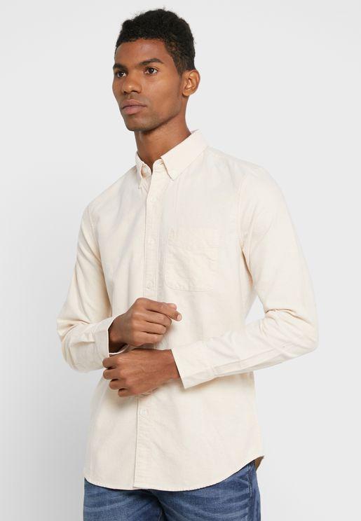 Essential Slim Fit Oxford Shirt