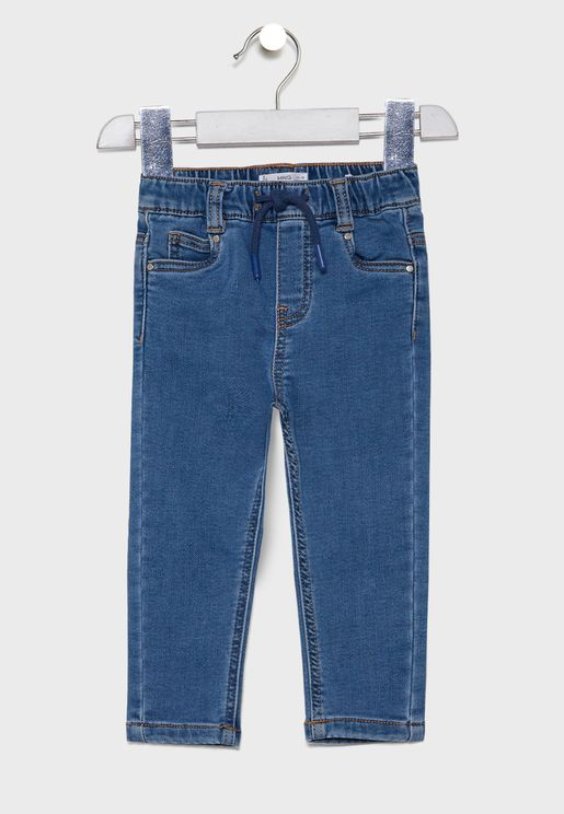 Infant Mid Wash Jogg Jeans