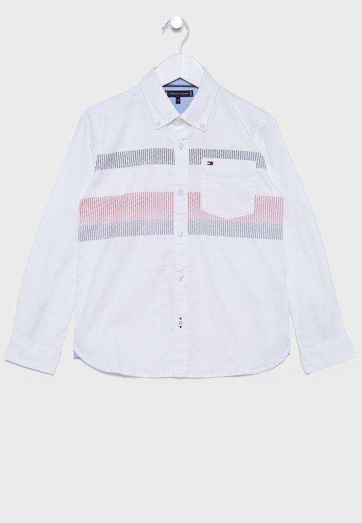 قميص بخطوط للاطفال