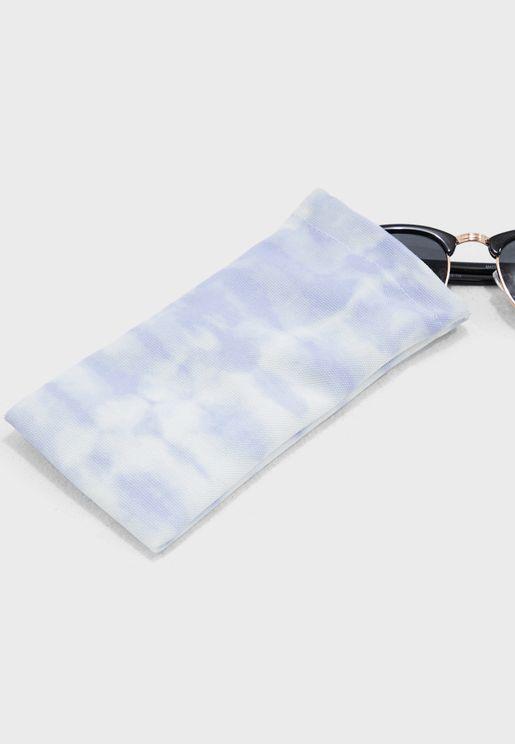 Tie Dye Sunglasses Case