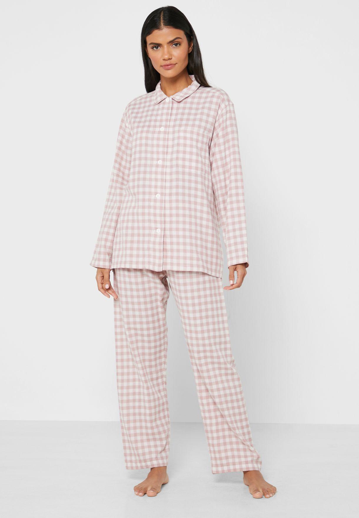 Side Seamless Double Gauze Pyjamas