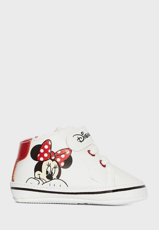 Infant Minnie Booties