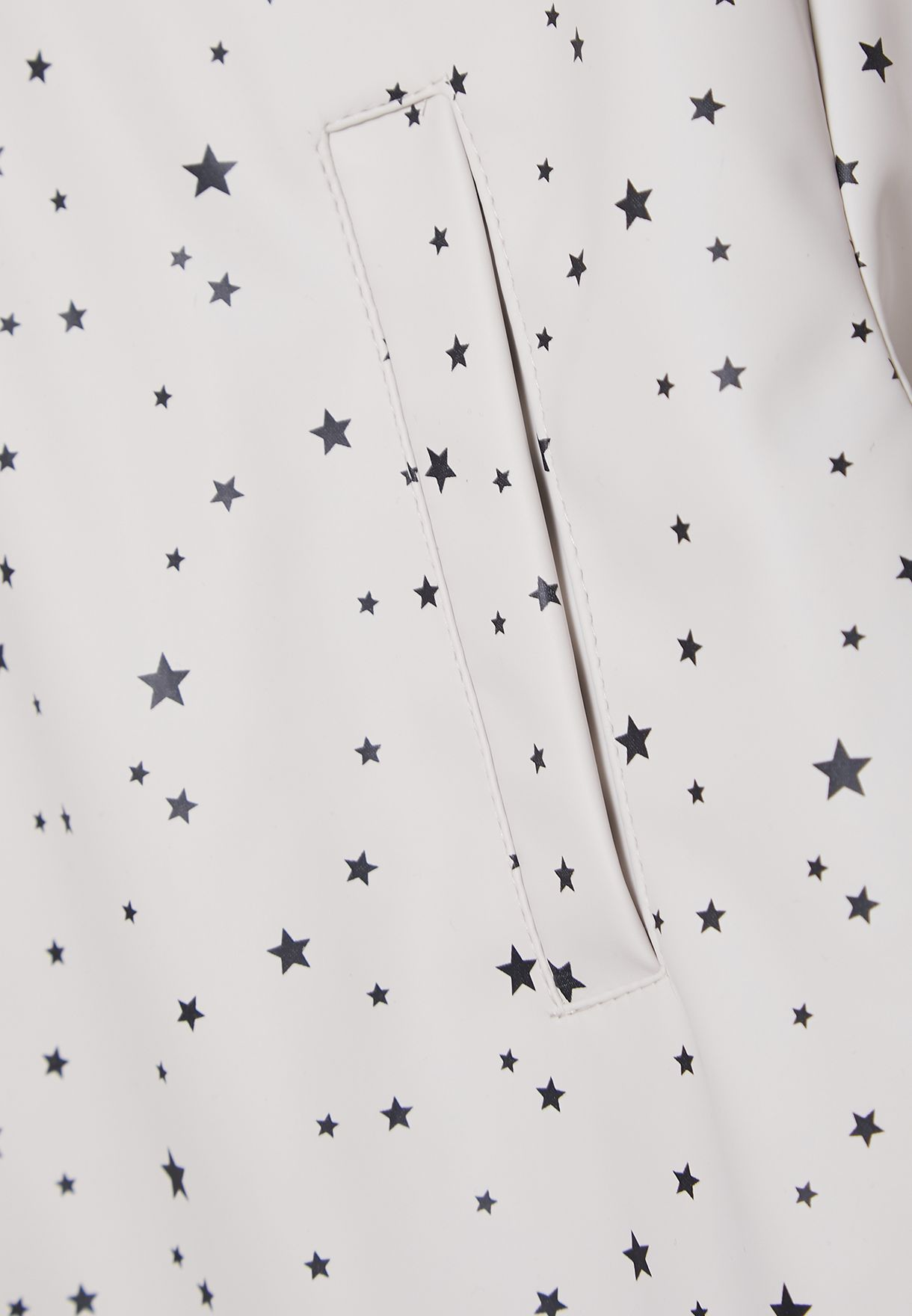 Kids Star Print Hooded Jacket