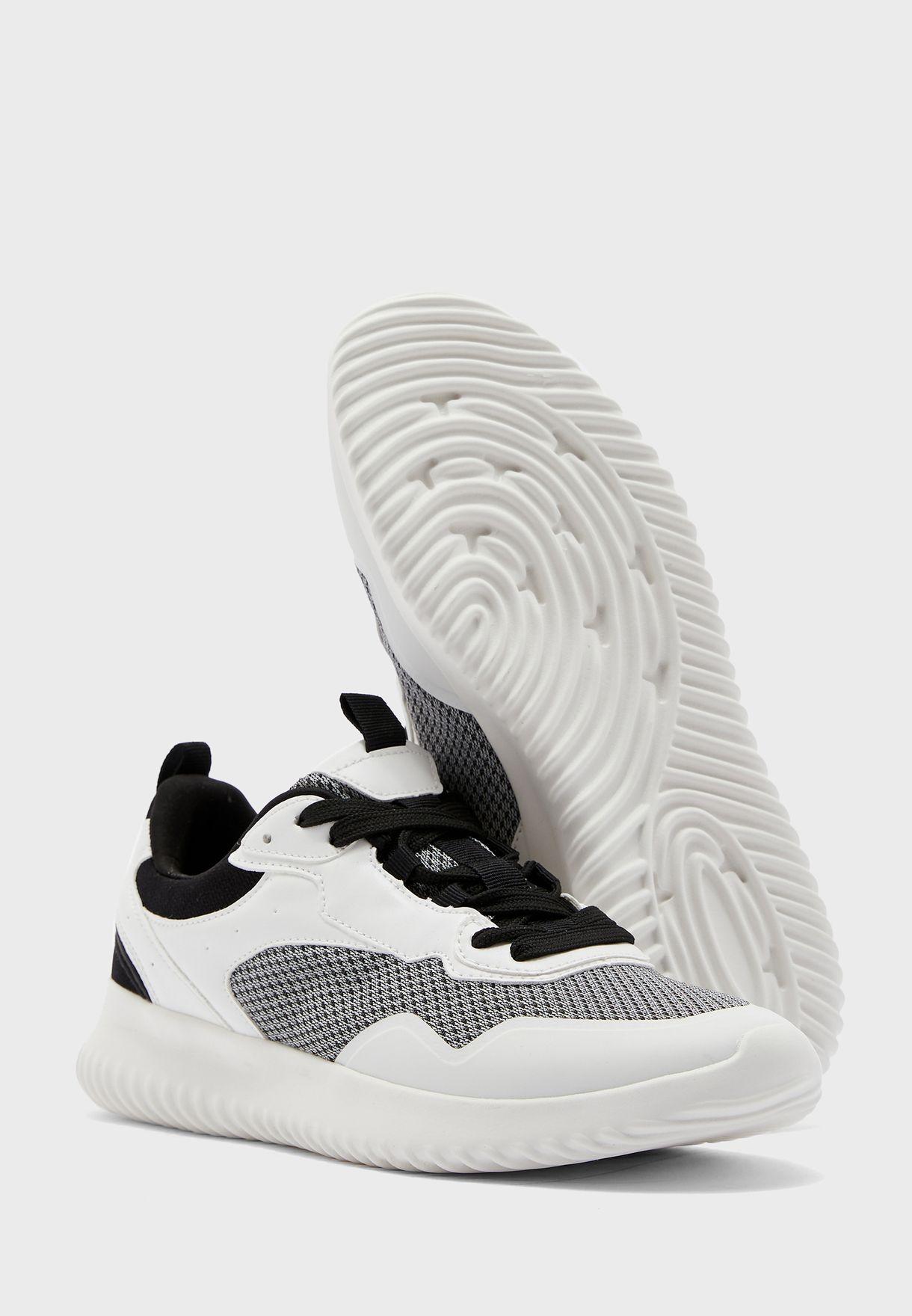 Mesh Detail Sneakers