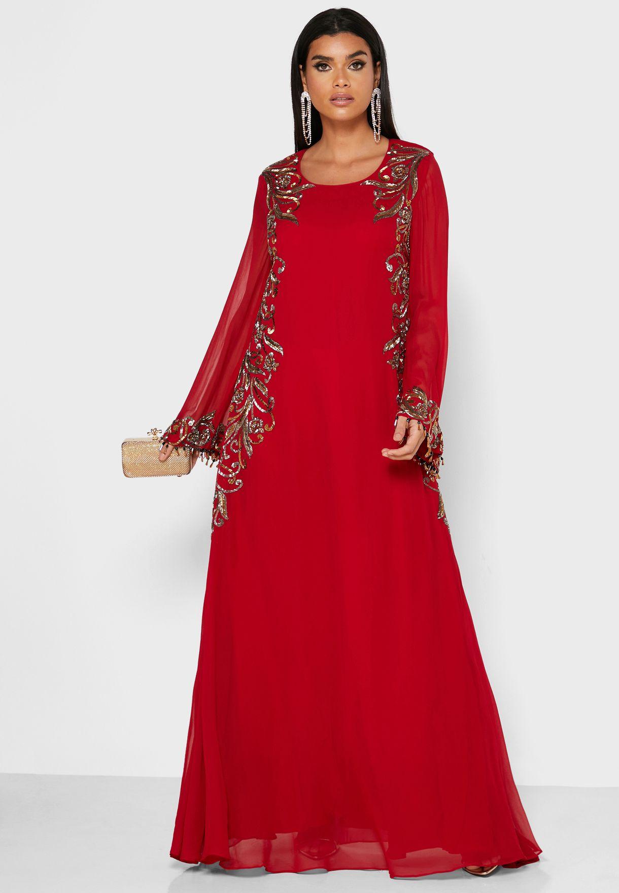 Embellished Jalabiya