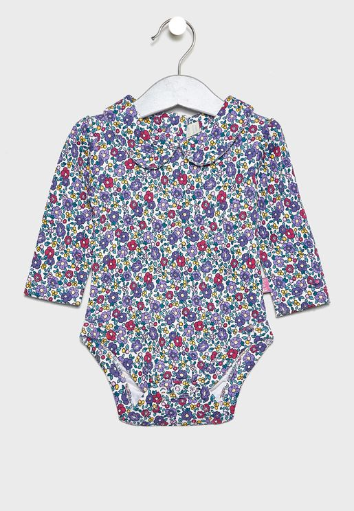 Kids Printed Bodysuit