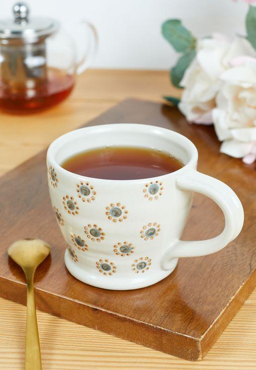 مج قهوة خزف حجري