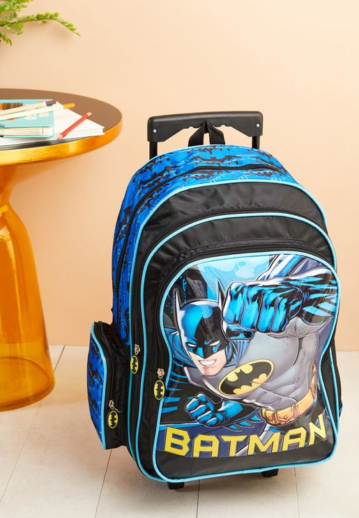 Batman Fist of Justice Trolley Backpack 18""