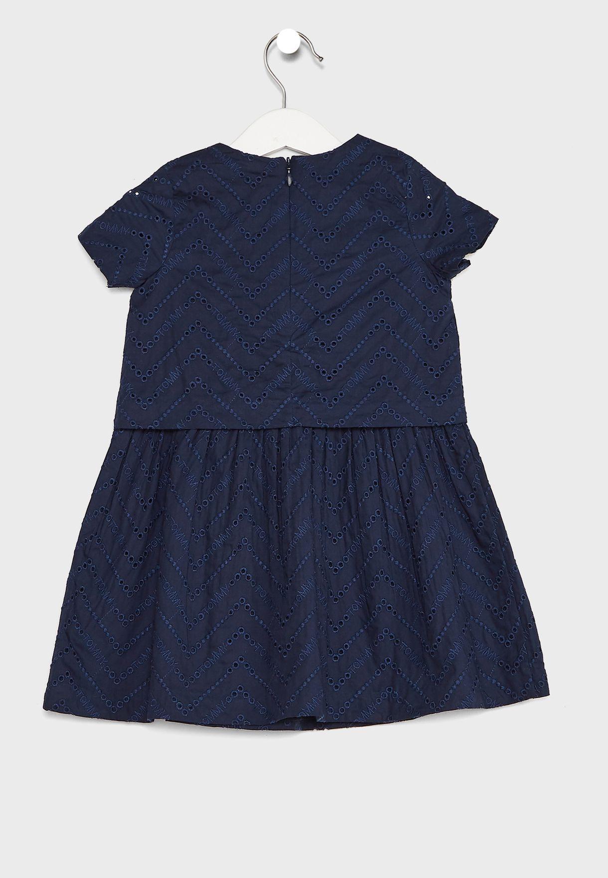 Kids Broderie Anglaise Dress