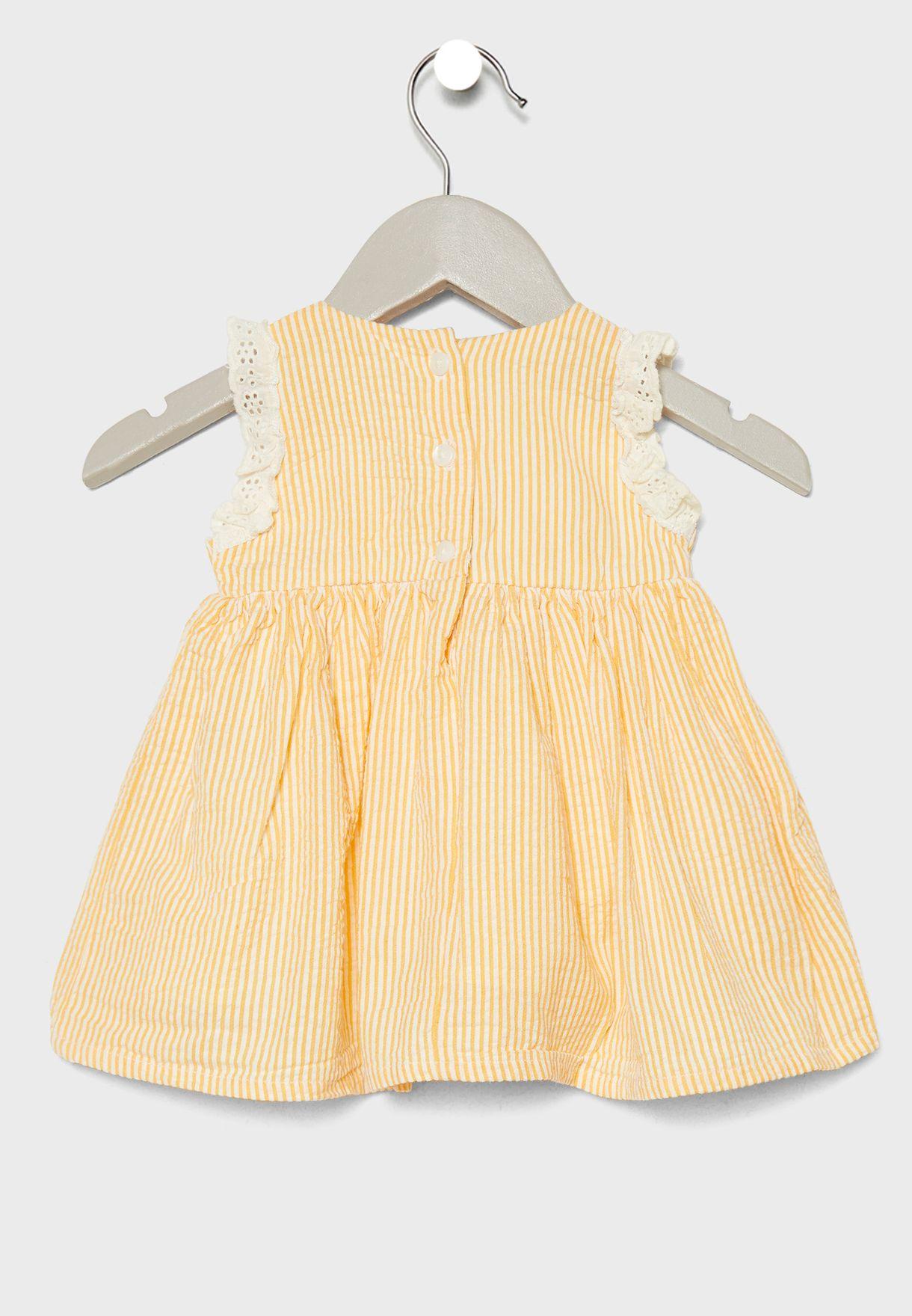 Infant Organic Cotton Spencer Dress
