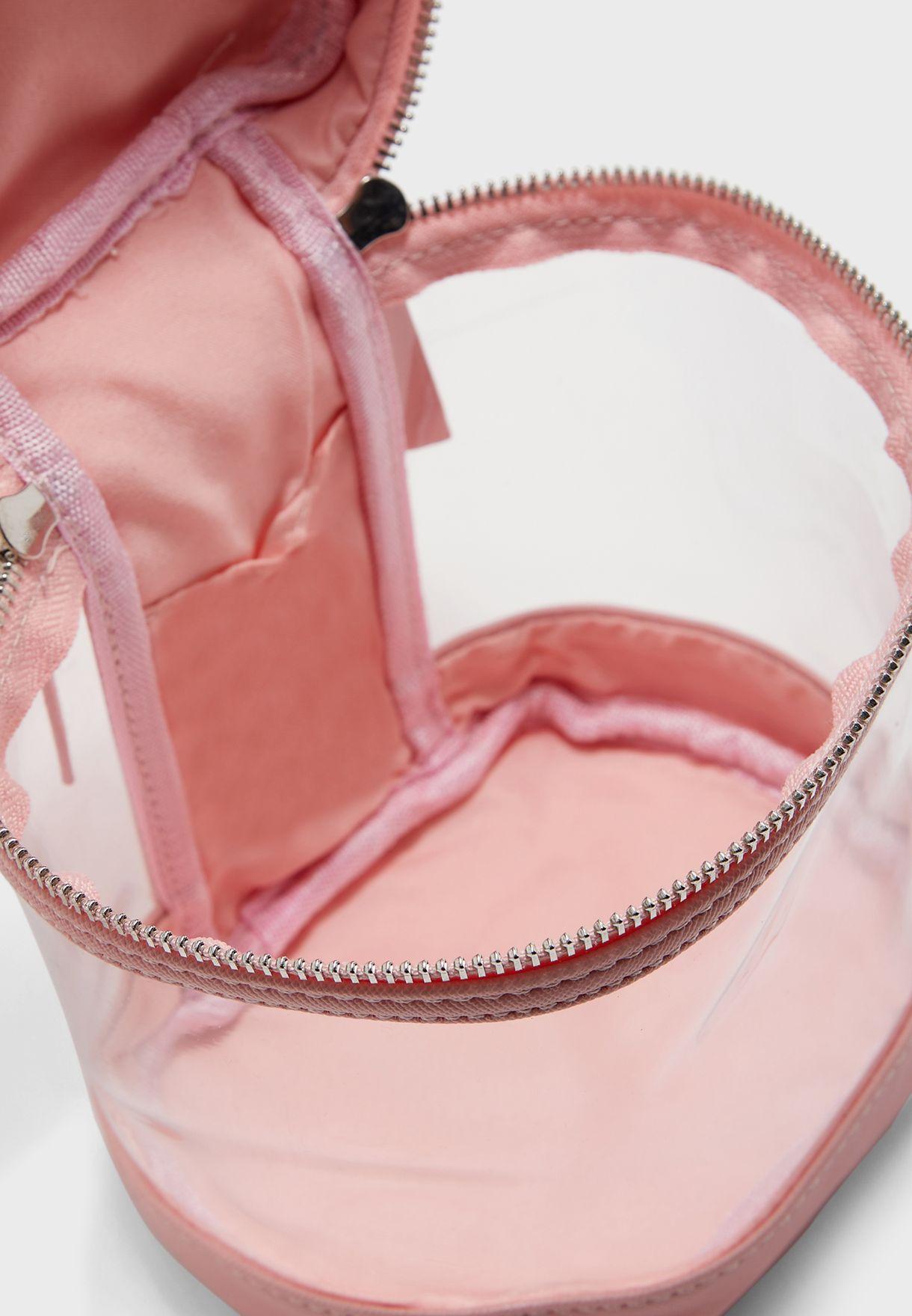 Pu Clear Cosmetic Bag