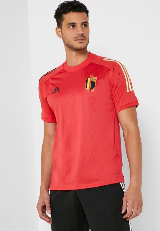 تيشيرت بشعار منتخب بلجيكا لكرة القدم