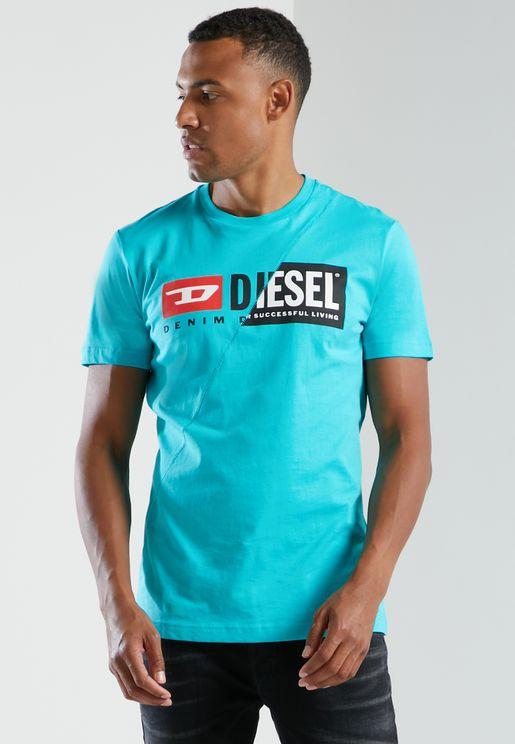 Logo Crew Neck T-Shirts