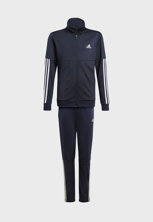 Youth 3 Stripe Team Tracksuit