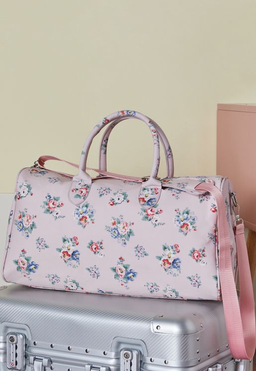 Floral Structured Weekend Bag