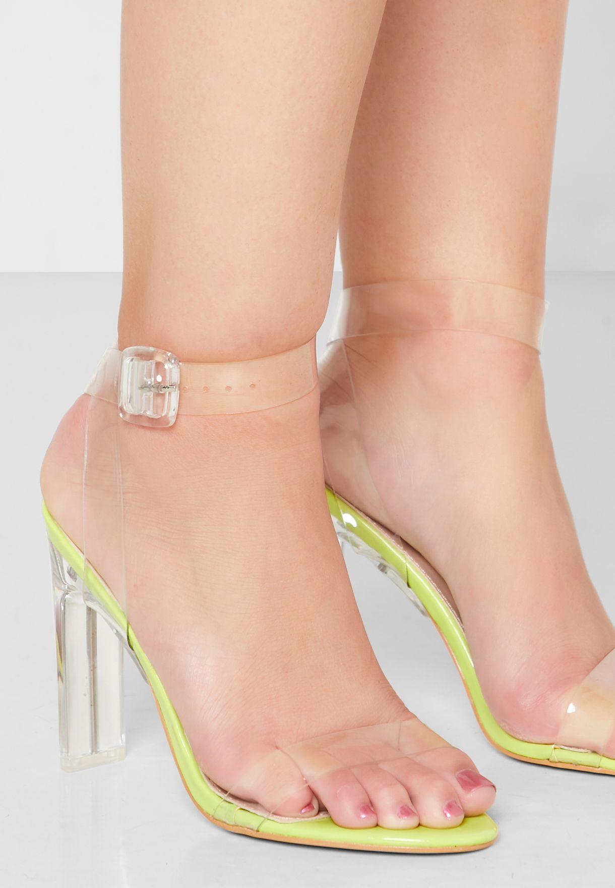 Slice Ankle Strap Sandal