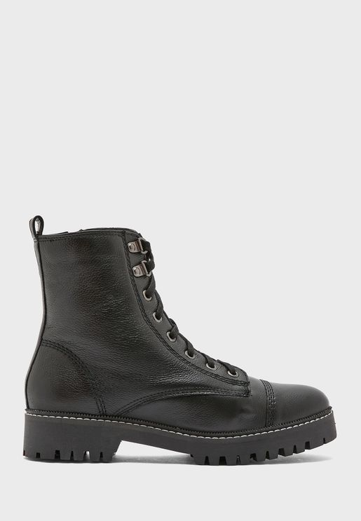 Holly Lace Up Hiker Boot