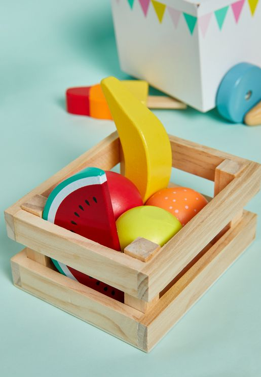 Kids Wooden Fruits Toy