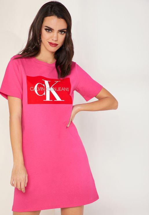 Iconic Monogram Box T-Shirt Dress